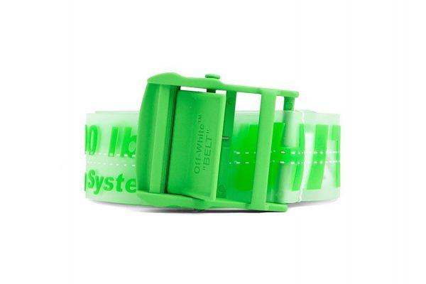 Green Rubber Belt